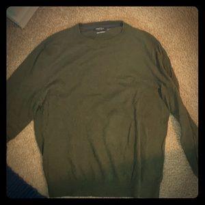 Náutica light weight green men's sweater L